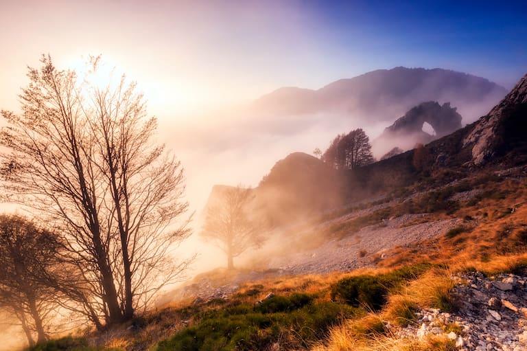 Frühnebel löst sich in den kommenden Tagen rasch auf – es wird ein sonniges Herbstwochenende