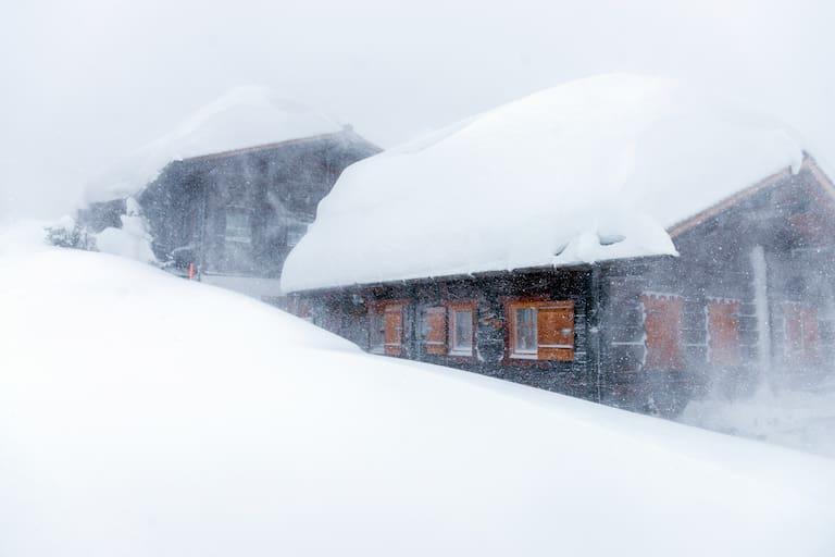 Schneesturm im Montafon