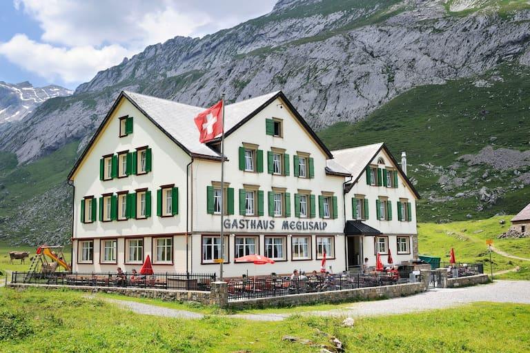 Berggasthaus Meglisalp Appenzeller Alpen