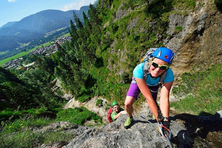 Klettersteiggehen Anfänger Tipps