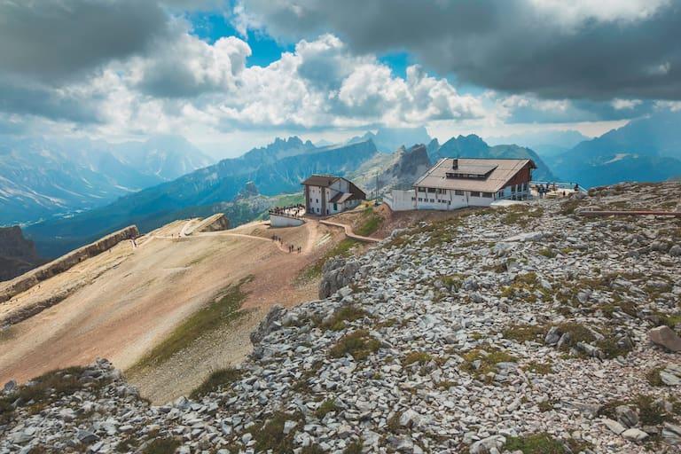 Rifugio Lagazuoi (2.778 m) Dolomiten
