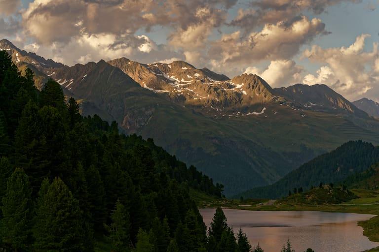 Obersee beim Staller Sattel im Defereggental, Nationalpark Hohe Tauern
