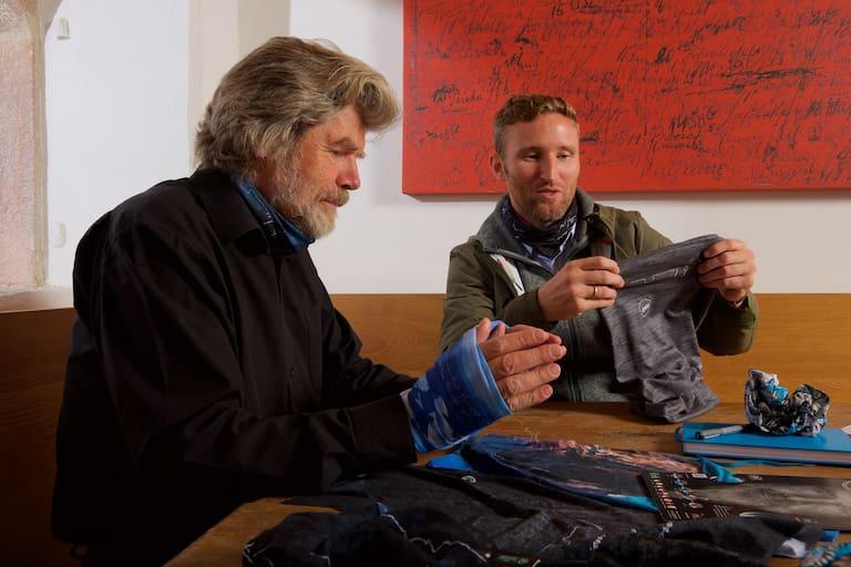 Reinhold Messner und Sebastian Reuthal