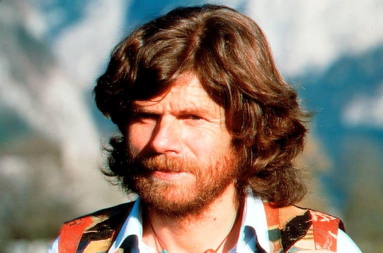 Der junge Reinhold Messner (1998), feiert dieses Jahr seinen 76. Geburtstag