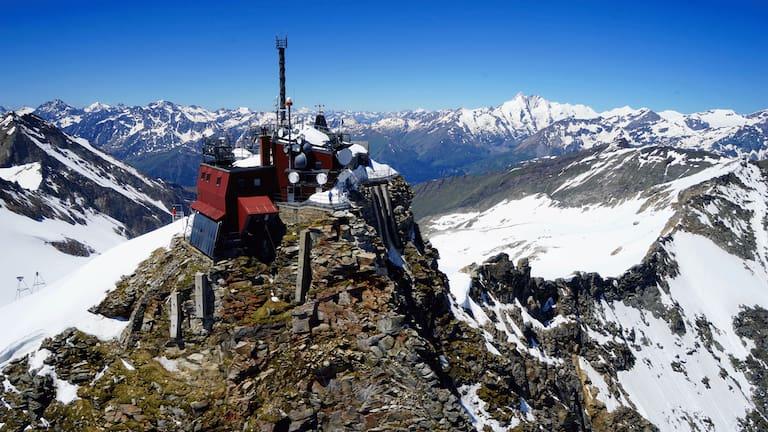 Sonnblick Observatorium in der Goldberggruppe in Salzburg