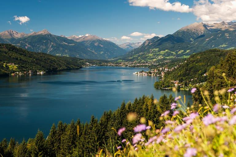 Alpe-Adria-Trail: Am Millstätter See in Kärnten