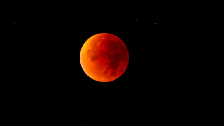 Totale Mondfinsternis: Vollmond als Blutmond