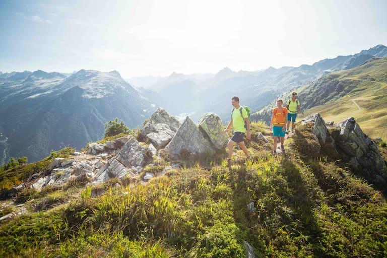 Wanderung über den Gantakopf zur Alpe Nova im Montafon, Vorarlberg