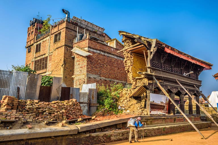 Erdbebenhilfe für Nepal: 2 Tage mit Gerlinde Kaltenbrunner und Hans Goger