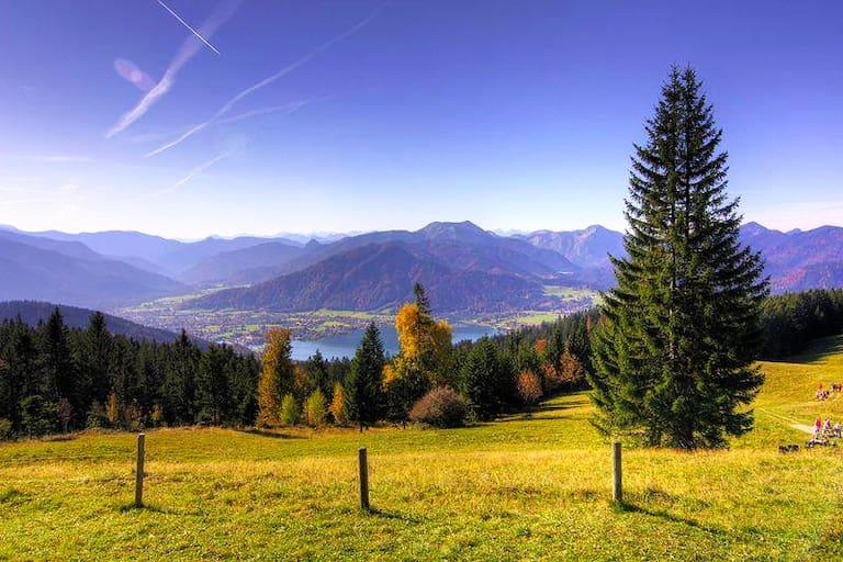 Tegernsee: Wanderung auf die Neureuth in den Bayerischen Voralpen