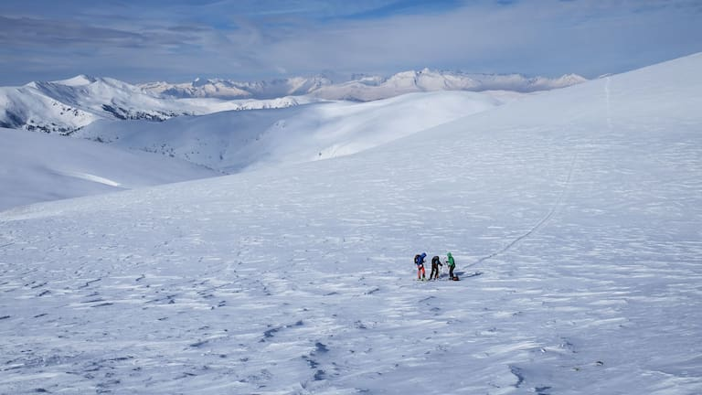 Nockberge-Trail: Skitourengehen in den Kärntner Nockbergen
