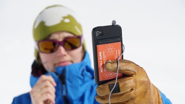 Notfall am Berg: Headset - Handy-Netzabdeckung