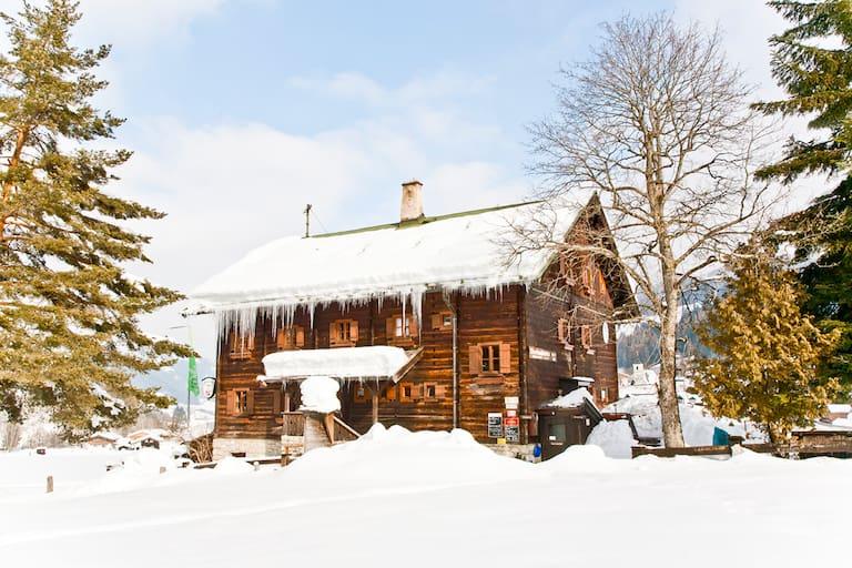 Oberlandhütte in Tirol