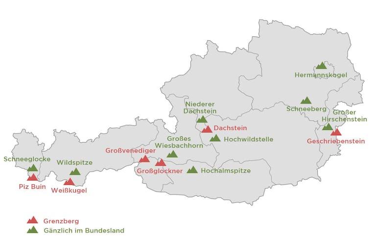 15 Summits: Die höchsten Berge Österreichs