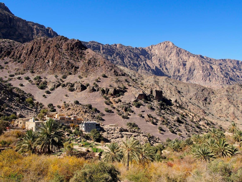 Klettern Campen Wandern Oman Bergwelten Schoepf