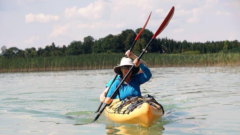 Wassersport: Paddeln auf heimischen Seen und Flüssen