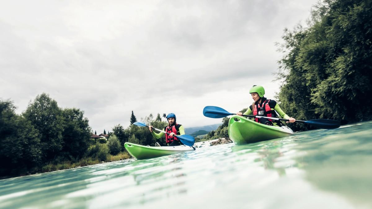 Klettersteig Immenstadt : Wassertour: paddeln auf der iller in bayern bergwelten