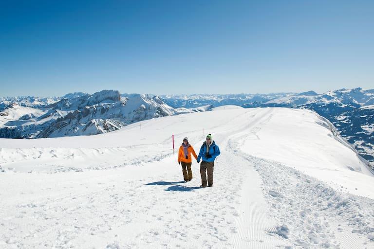 Panoramarundweg Rosenboden in der Schweiz