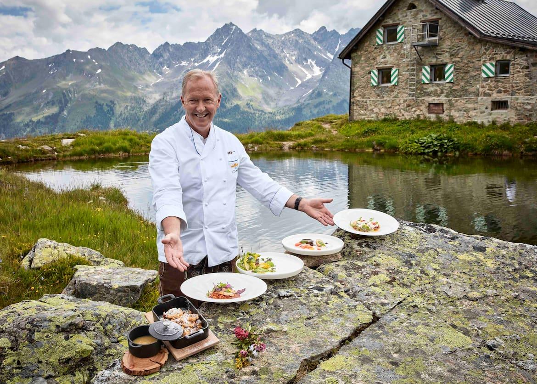 Im Rahme der Veranstaltungen des Kulinarischen Jakobweges kann man einheimischen Spitzenköchen über die Schulter blicken.