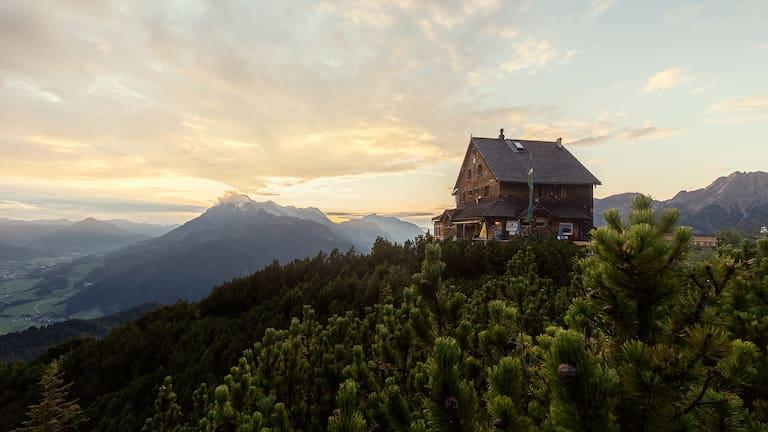 Peter-Wiechenthaler-Hütte in den Berchtesgadener Alpen in Salzburg