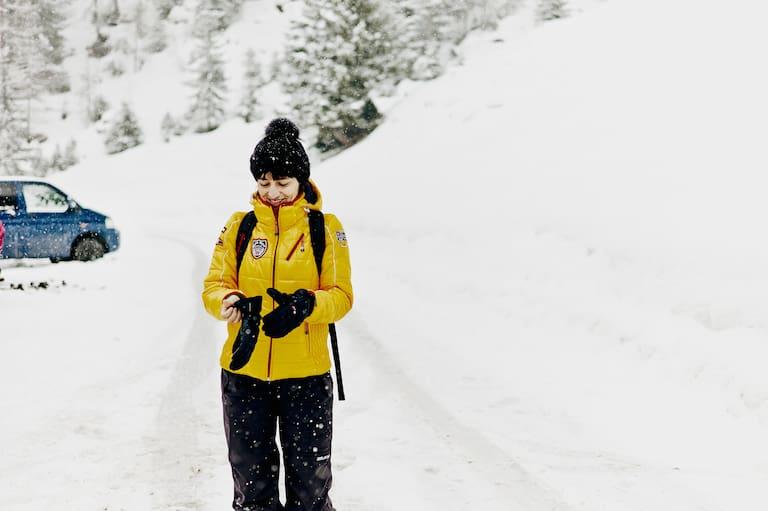 Richtig anziehen - bei Kälte besonders wichtig