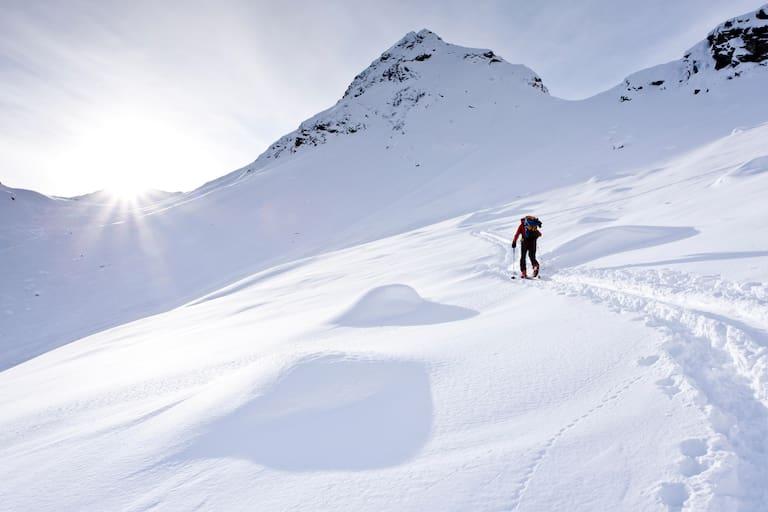 Skitourengehen im Südtiroler Pflerschtal: Aufstieg auf die Ellesspitze (2.661 m)