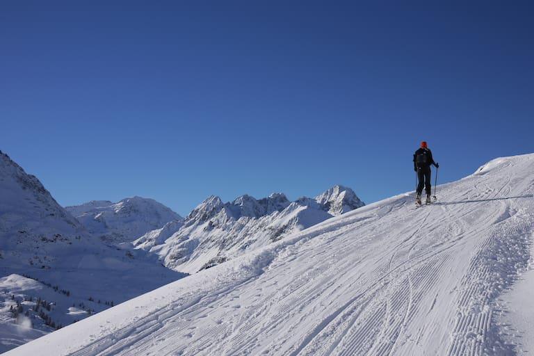 Pistentouren in Obergurgl