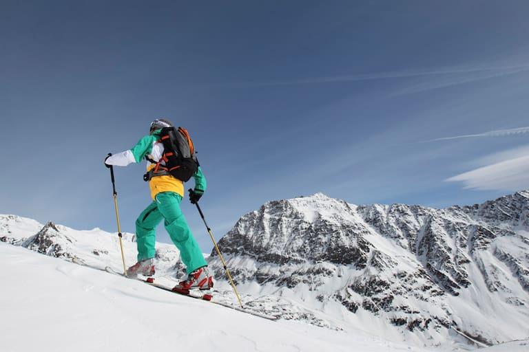 Südtirol: Pistenskitour am Schnalstaler Gletscher