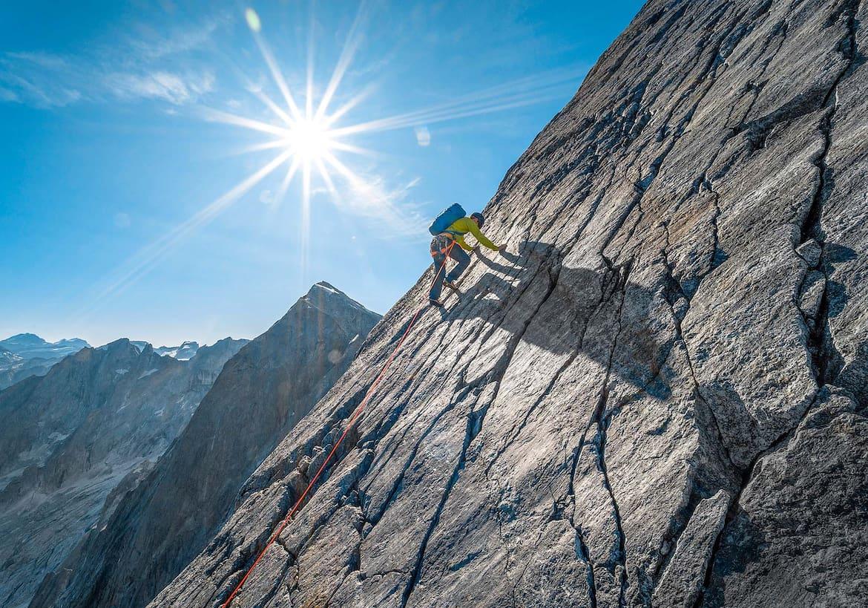 Klettern auf Granit