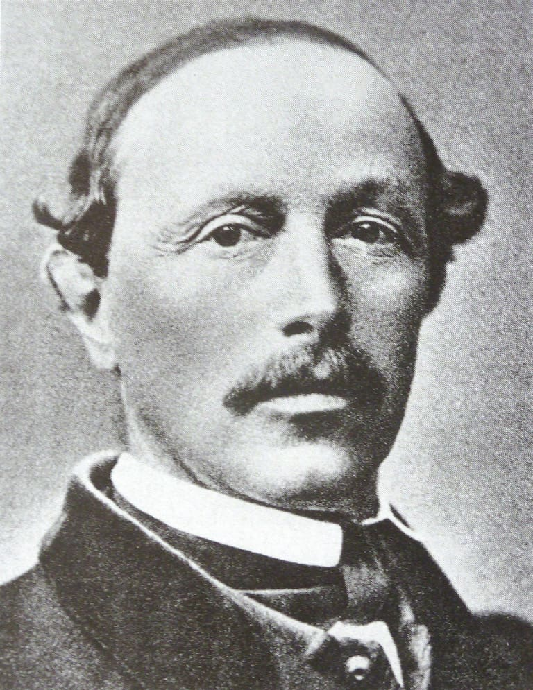 Piz Bernina-Erstbesteiger und Landvermesser Johann Coaz