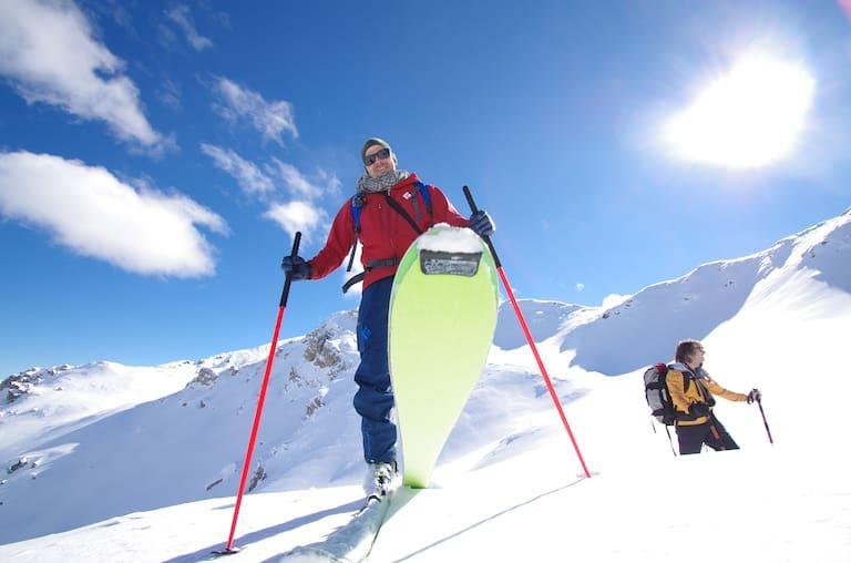 Peter Plattner Skifahren