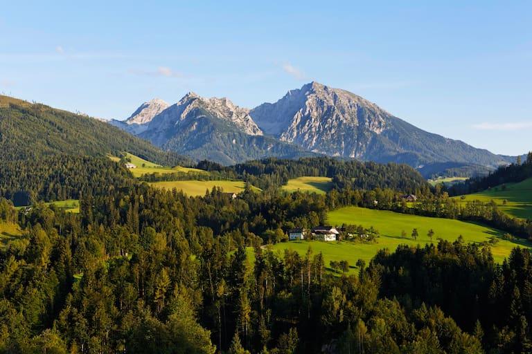 Kleiner und Großer Pyhrgas in der Region Pyhrn-Priel in Oberösterreich