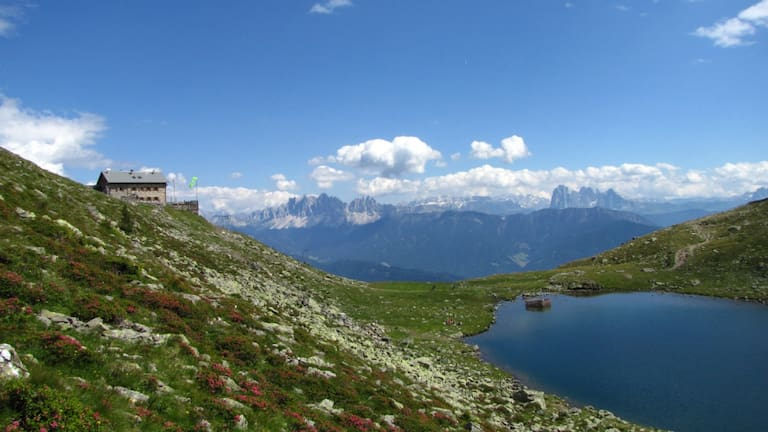 Radlseehütte in Südtirol