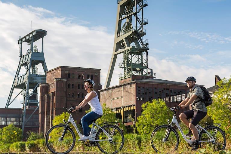 Fahrtwind Deutschland Radfahren Ruhrgebiet