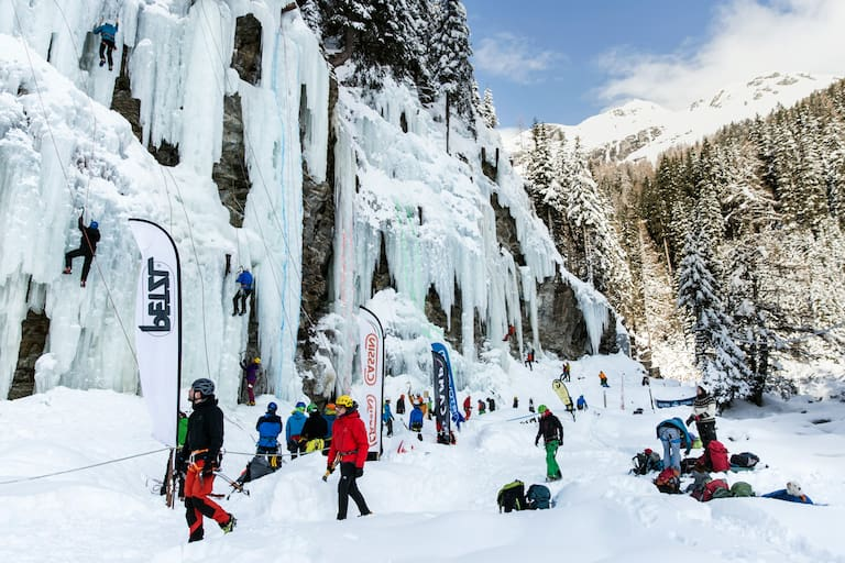 Eiskletterfestival im Eispark Osttirol