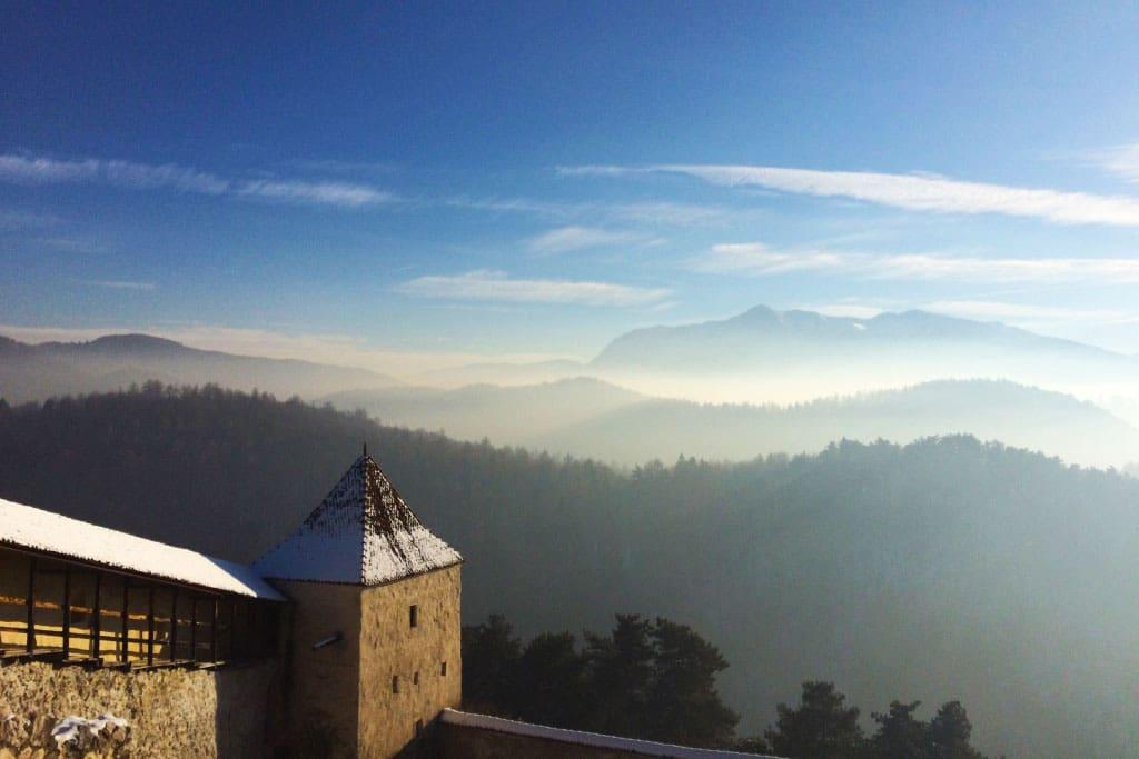 Transsilvanien: Râșnov bei Brașov