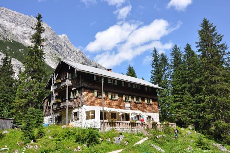 Reintalangerhütte in Bayern