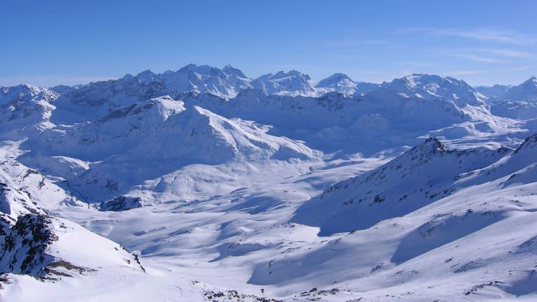 Platta-Gruppe in Graubünden: Roccabella und Piz Grevasalvas