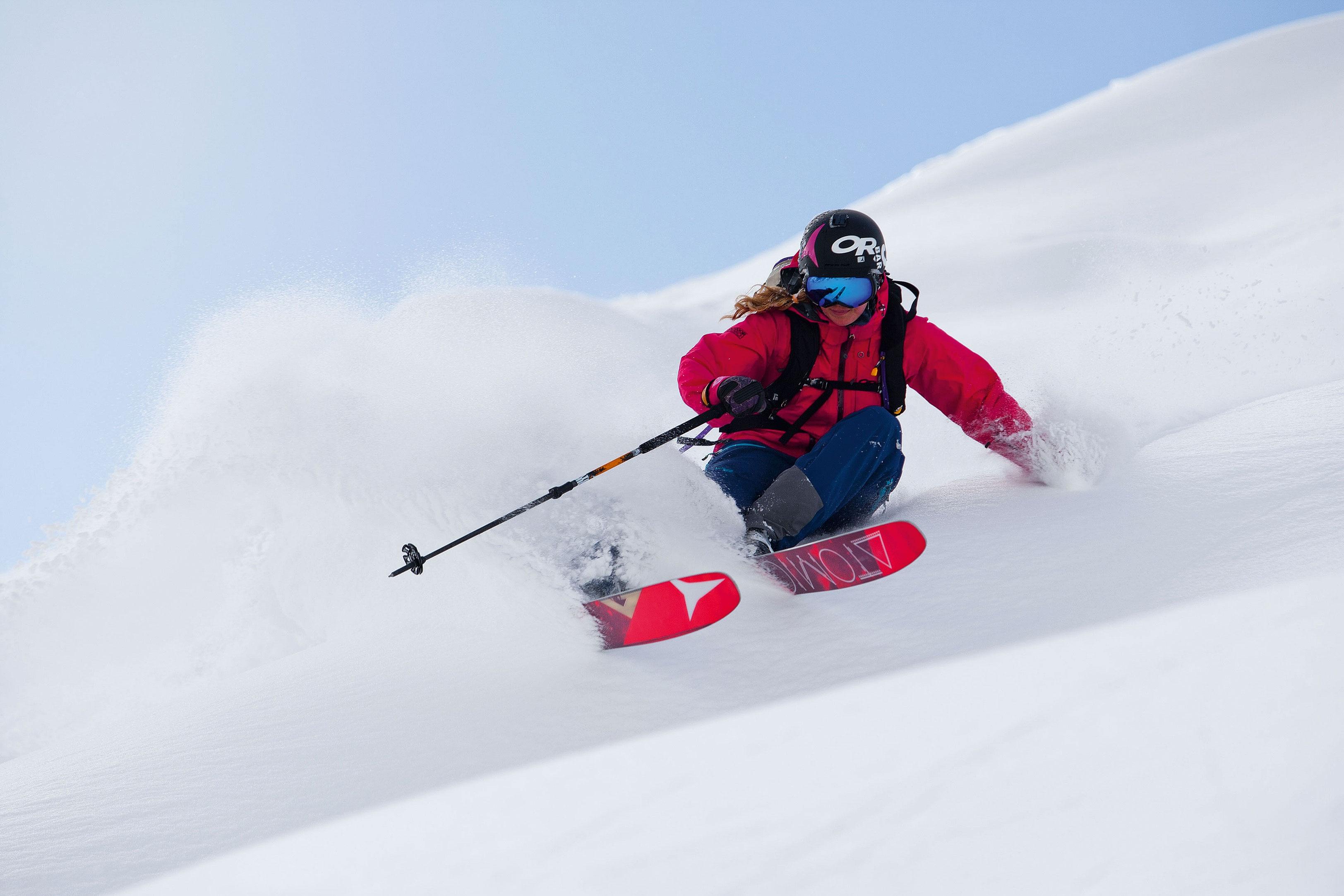 Technik in den alpen skipisten bergwelten