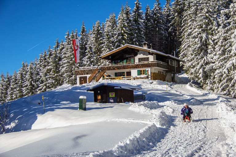 Rohrkopfhütte in Bayern