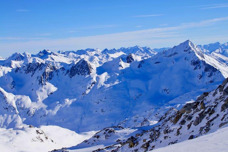 Schweiz: Gotthard Gruppe im Kanton Uri