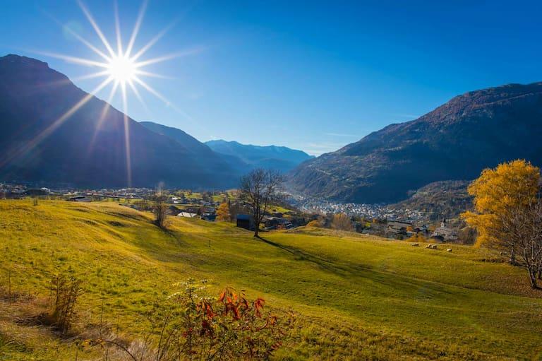 Rundweg Brigerberg: In der Leone-Gruppe im Kanton Wallis