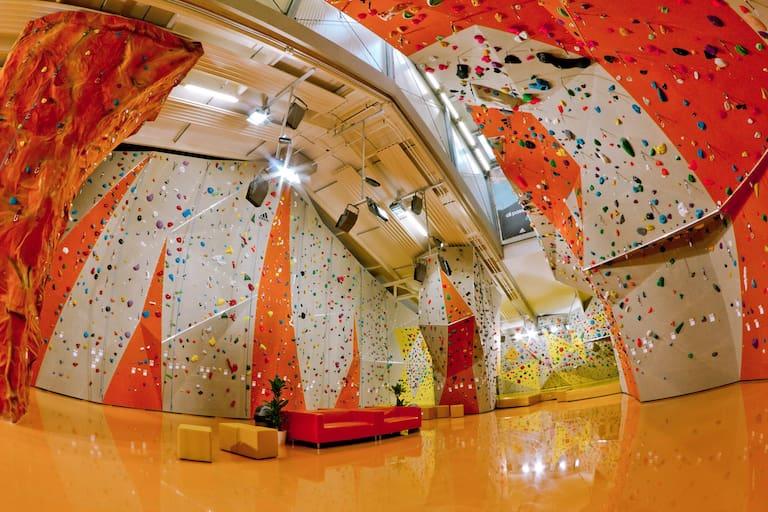 Die Kletterei