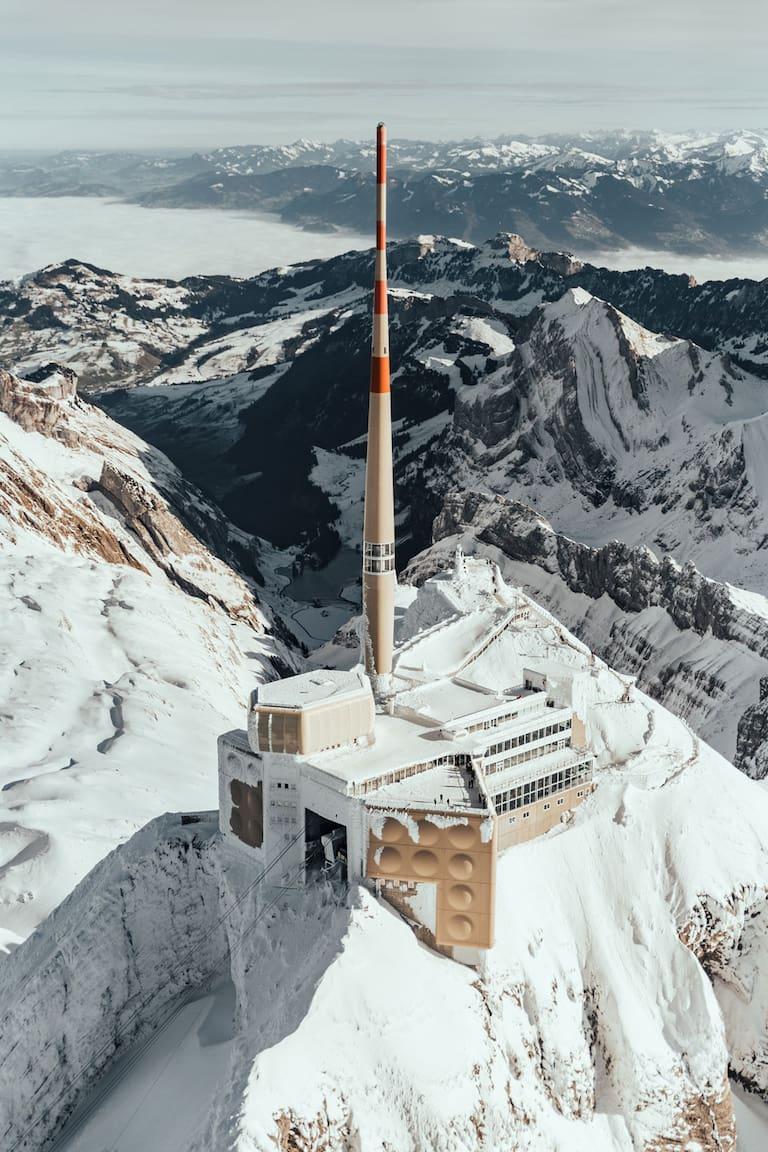 Säntis Gipfel