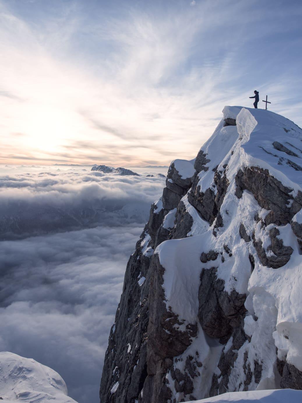 skitour pala cime rosetta dolomiten