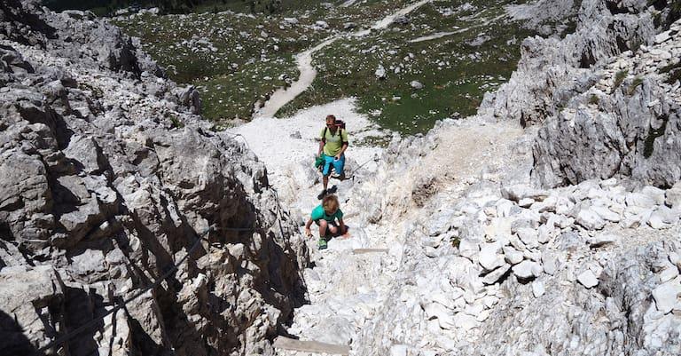 Klettermöglichkeit für Kinder