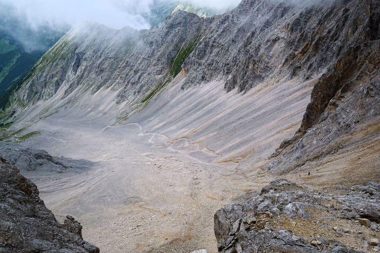 Schlauchkar im Tiroler Karwendel