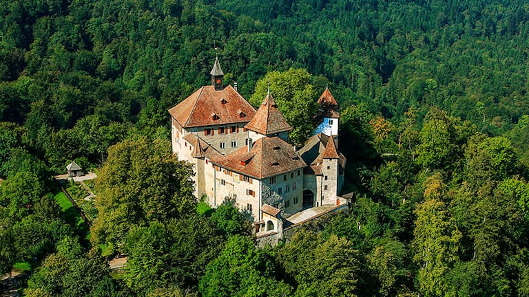 Schloss Kyburg bei Winterthur im Kanton Zürich