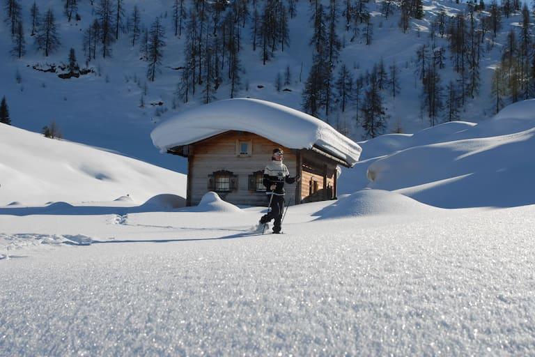 Schneeschuhwandern mit Kindern