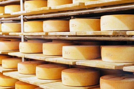 Käse: Sennerei Englhorn im Vinschgau
